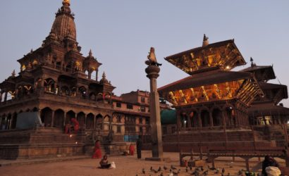 Beautiful temples at Patan Durbar Square