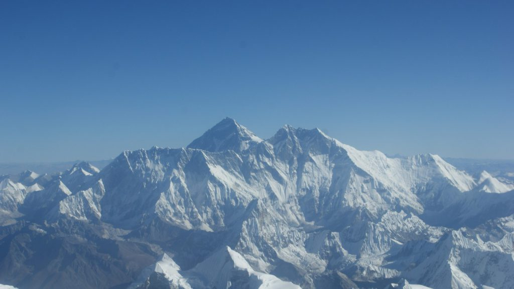Himalayan range of Everest