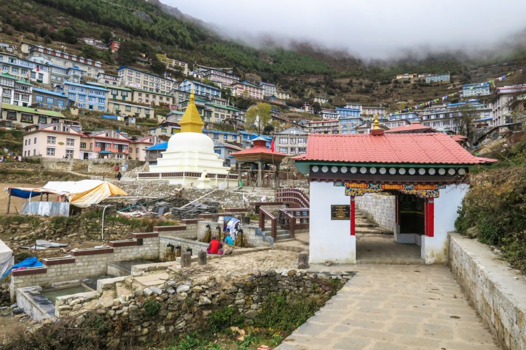 Namche Bazaar Entrance gate