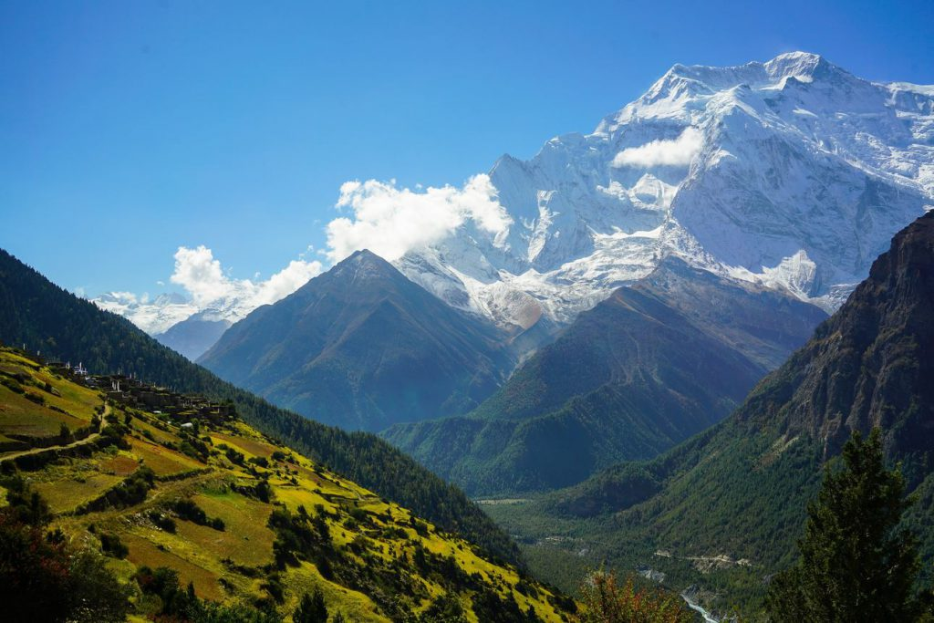 pisang valley at Annapurna Conversation Area
